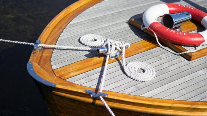 IPE wood boat